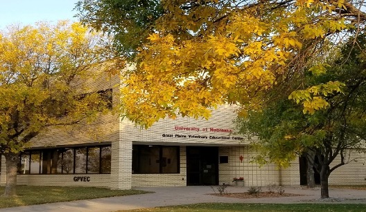 photo of the Great Plains Veterinary Education Center building