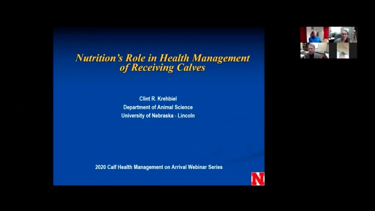 link to Role of Nutrition in Health Maintenance of Calves