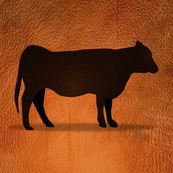 Mobile Cattle Tracker App Icon