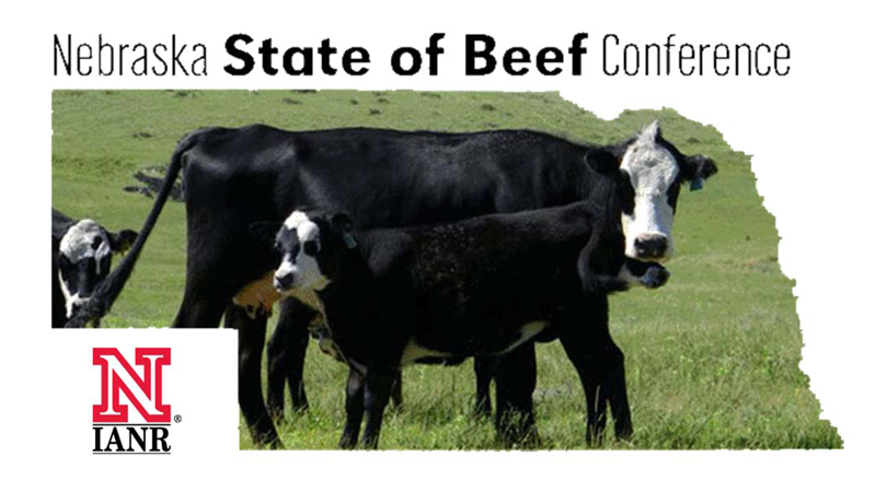 Nebraska State of Beef Conference Graphic